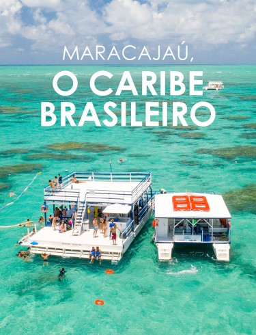 Maracajaú, o caribe brasileiro.
