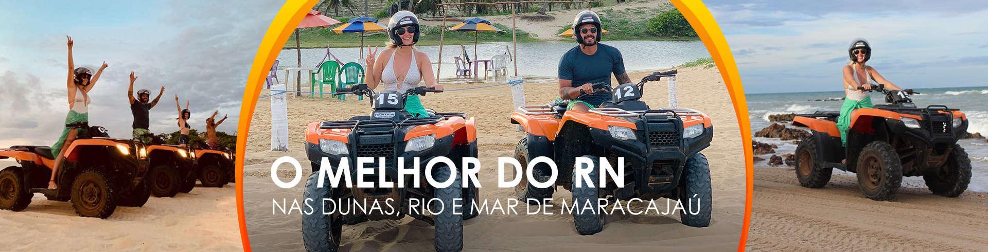 Quadriciclo em Maracajaú